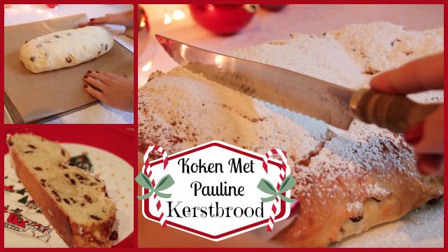 filmpje ♥ Koken met Pauline: Kerstbrood!