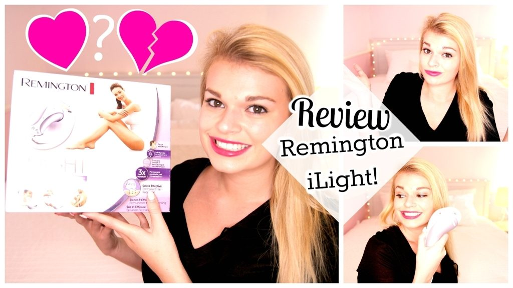 filmpje ♥ Review Remington iLight – Permanente Ontharing
