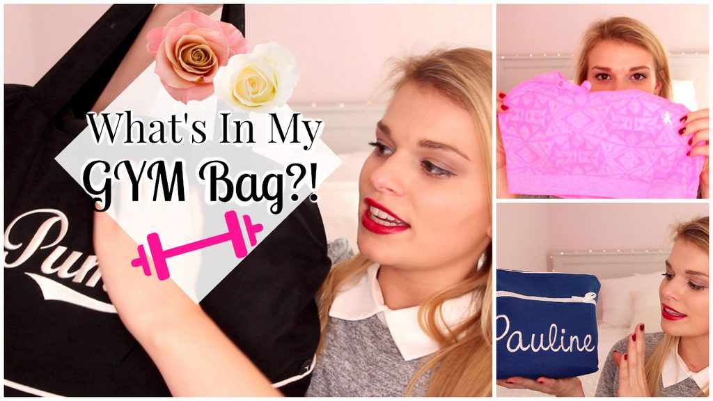 Filmpje ♥ What's In My Gym Bag?!
