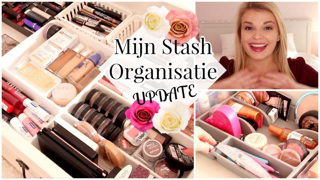 Filmpje ♥ Mijn Stash Organisatie – Update!