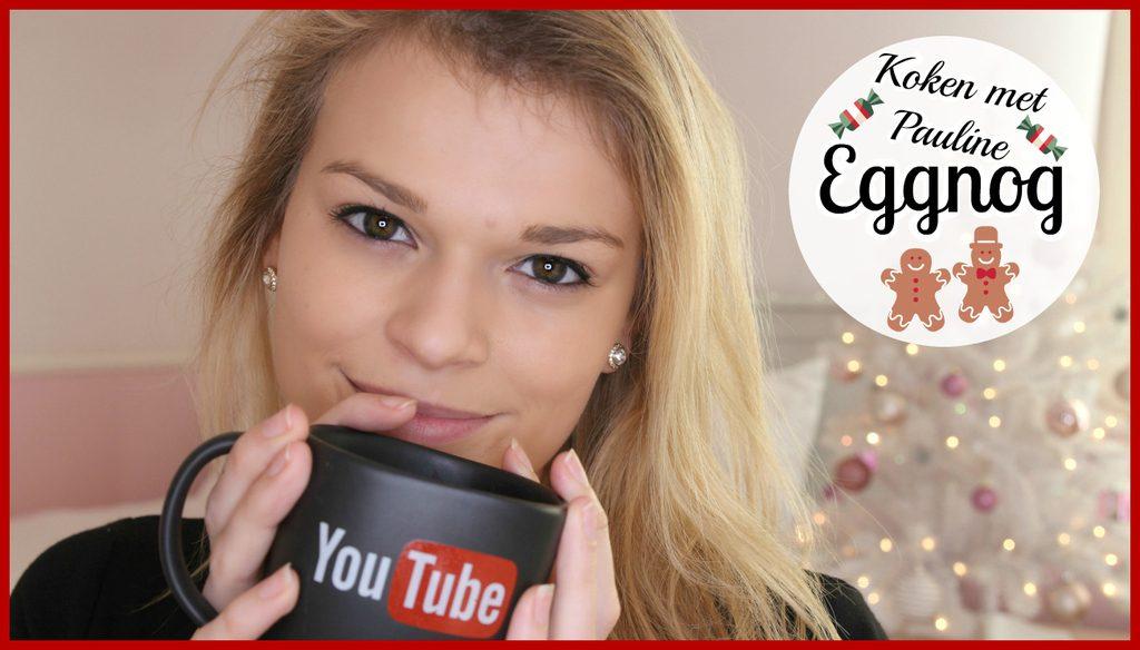 Filmpje ♥ Koken met Pauline: Eggnog!