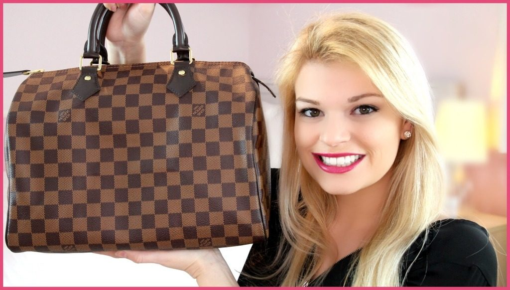 Filmpje ♥ What's In My Bag? Louis Vuitton Speedy 30!
