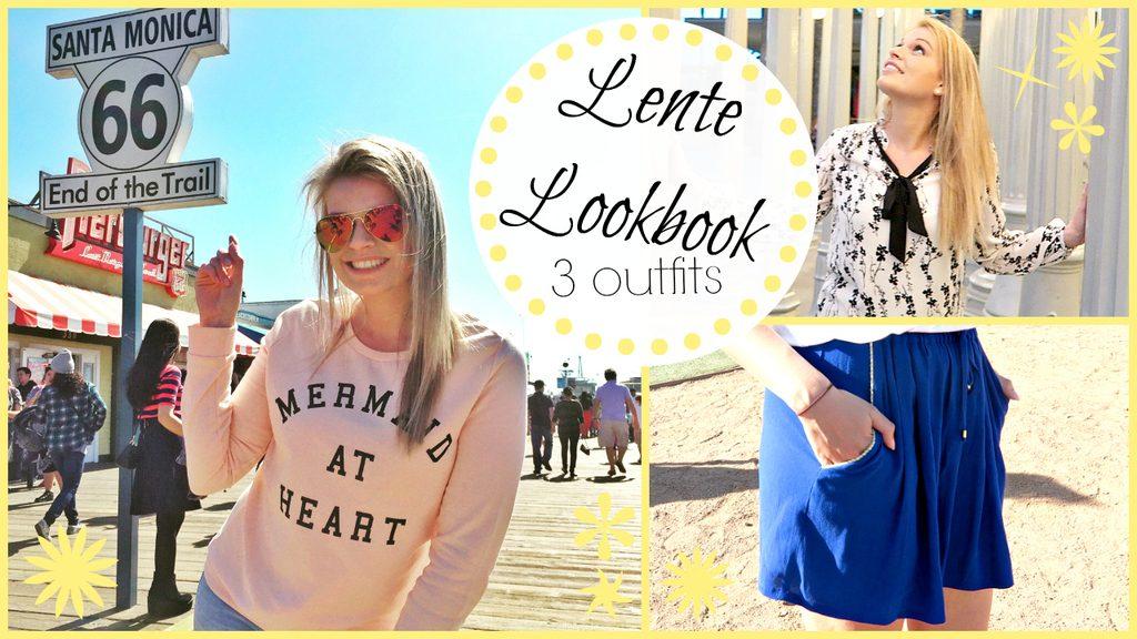 Filmpje ♥ Lente lookbook – 3 outfits