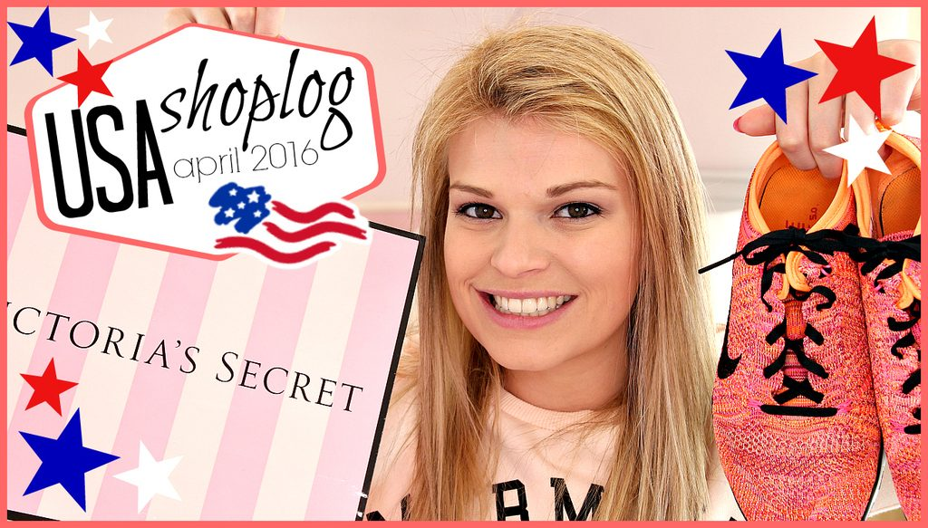 Filmpje ♥ USA try-on shoplog (April 2016)