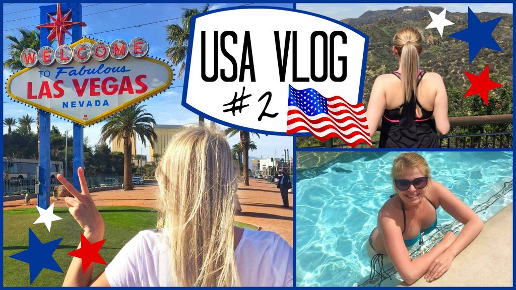 Filmpje ♥ USA vlog #2 – Rijden naar Las Vegas! (2016)