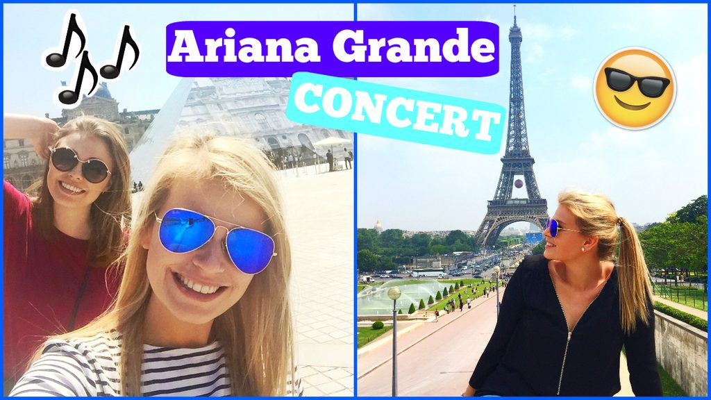 Filmpje ♥ Vlog – Ariana grande concert