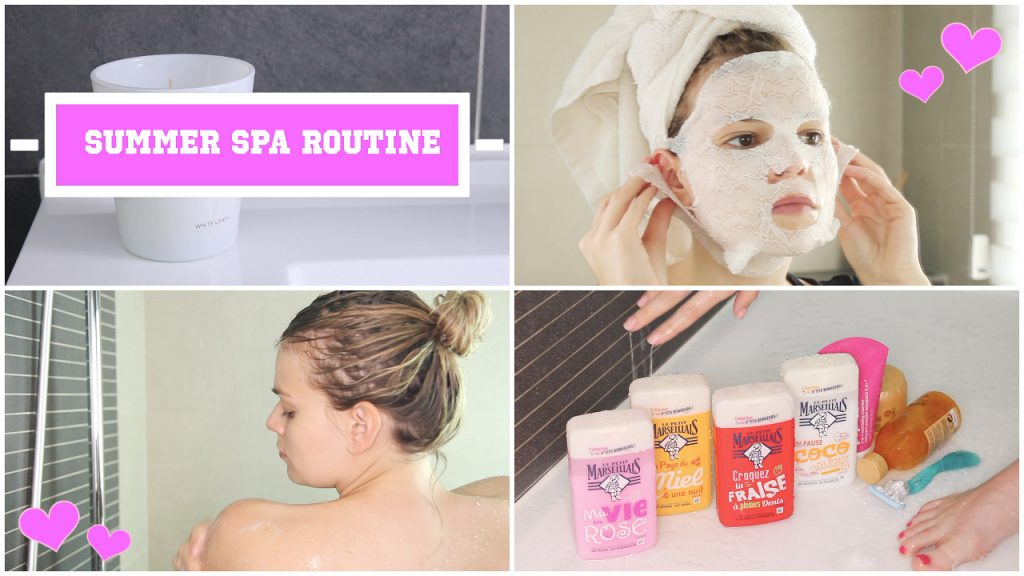Summer spa routine – juni 2017