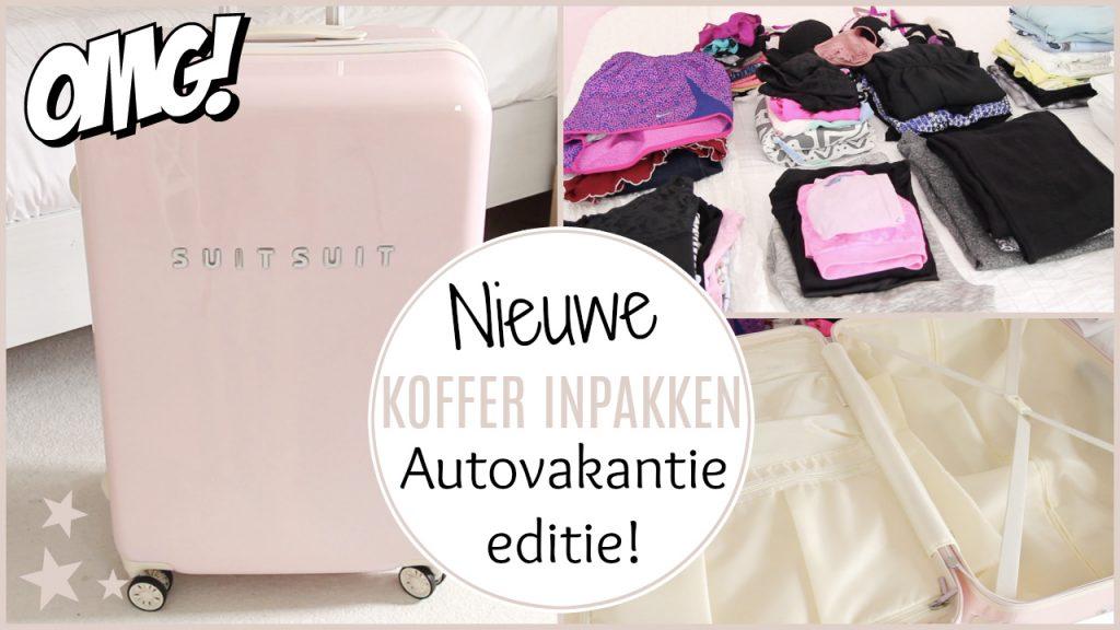 Koffer inpakken – Auto vakantie editie